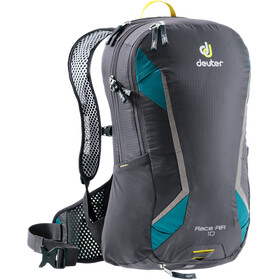 Deuter Race Air Mochila 10l, graphite-petrol